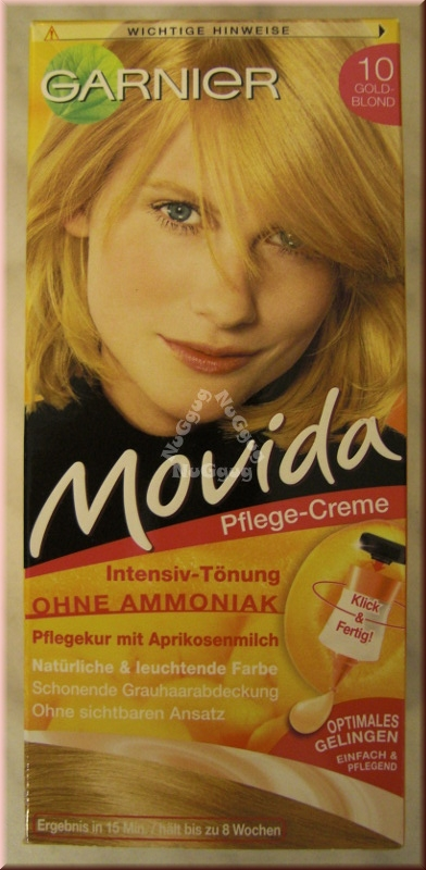 Garnier Movida Intensiv-Tönung 10, Gold-Blond