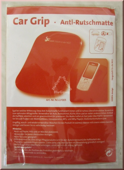 Anti-Rutschmatte Car Grip, rot