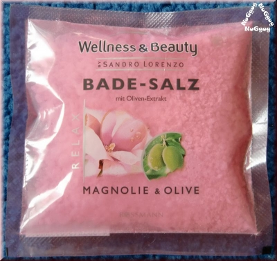 Wellness & Beauty Bade-Salz Magnolie & Olive by Sandro Lorenzo
