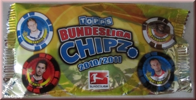 Topps Bundesliga Chipz 2010/2011. Rakitic. Asamoah. Chris. Westermann