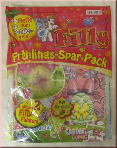 Filly Magazin, Frühlings Spar Pack, 2 Sammelhefte