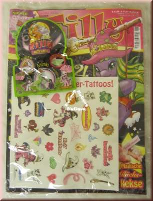 Filly Magazin, Sammelheft 1/2014 mit Baby Filly Witchy und magische Glitzer-Tattooste