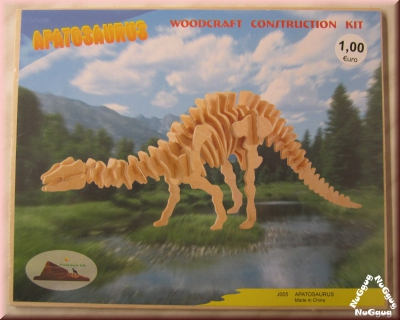 3D Holzpuzzle Apatosaurus