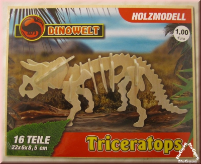 3D Holzpuzzle Triceratops