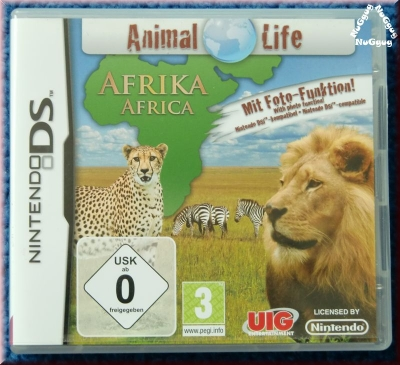 Animal Life Afrika. Nintendo DS