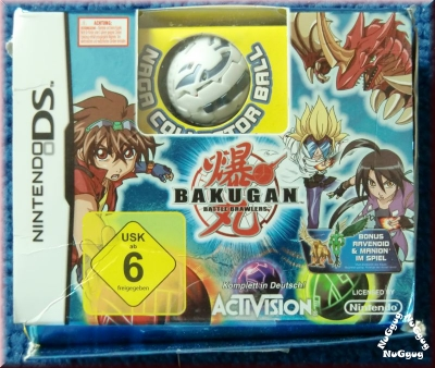 Bakugan Battle Brawlers. Nindendo DS
