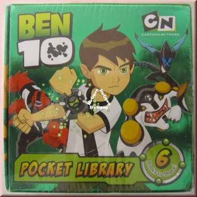 Pocket-Bilbliothek Ben Tennyson, Pocket Library 10