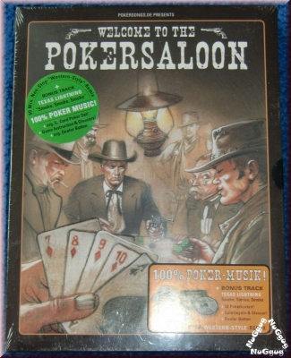 Welcome to the Pokersaloon. Musik. Karten. Spielregeln