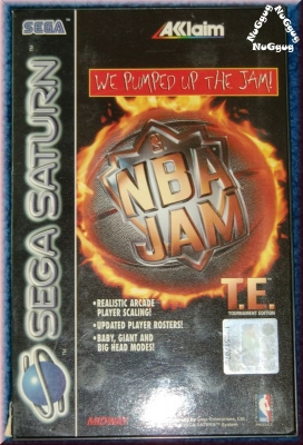NBA JAM - We pumped up the Jam! . Sega Saturn