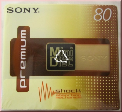 Sony Mini Disc Premium 80, 5er Pack