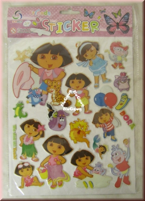 Friends 3D Soft Sticker, 20 verschiedene Motive