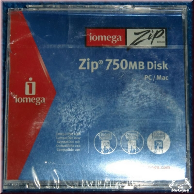 iomega Zip 750 MB Disk PC/MAC