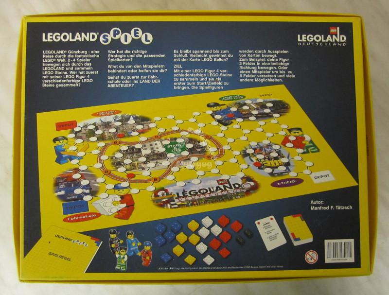 LEGO Legoland Brettspiel aus Legoland Deutschland Spiele