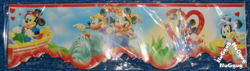 Bordüre Mickey Maus. 16.9 Meter x 90 mm