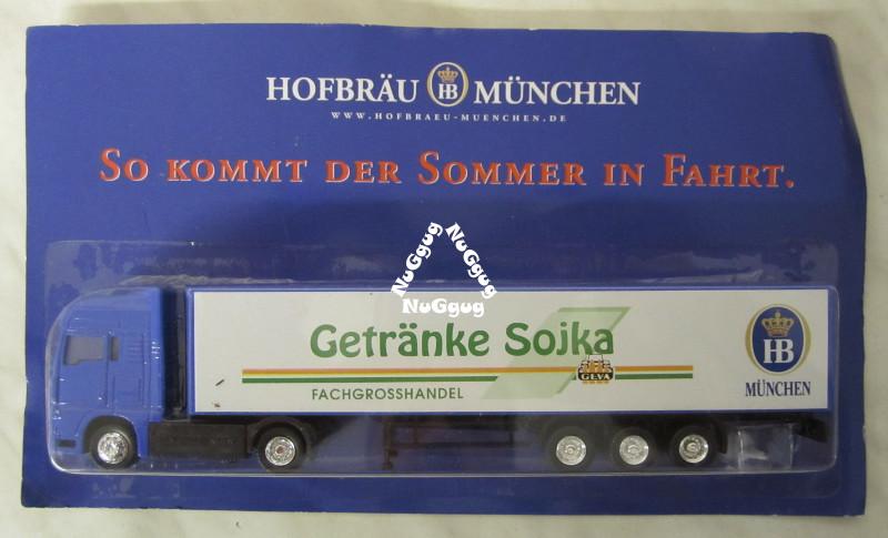 NuGgug - Sammler-LKW Hofbräu München Getränke Sojka