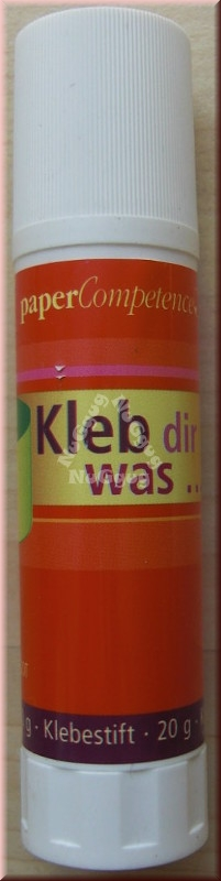 "Klebestift ""Kleb Dir was"", 20 Gramm"