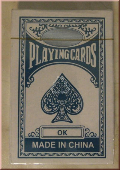 Pokerkarten, Playingcards, blau