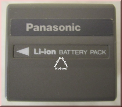 Panasonic Li-ion Battery Pack, Akku, CGA-DU12