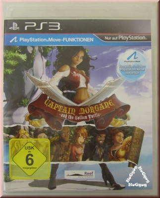 Captain Morgane and the golden Turtle, für PlayStation 3