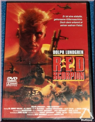 Red Scorpion. Dolph Lundgren