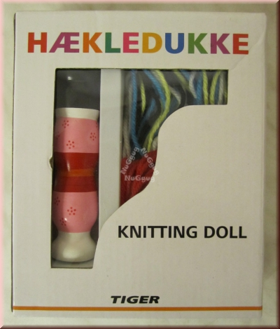 Strickpuppe, Haekledukke, Knitting Doll, von Tiger